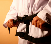 tieblackbelt A Home For The Over 40 Martial Artist
