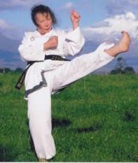 Dale Copeland, 4th Dan Taekwon-Do at age 68.
