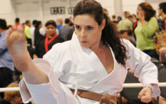 46 year old Tamar Springer Mother of Two Karate Champion
