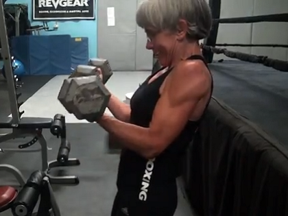 63-year old Kick Boxer Shares Her Motivations
